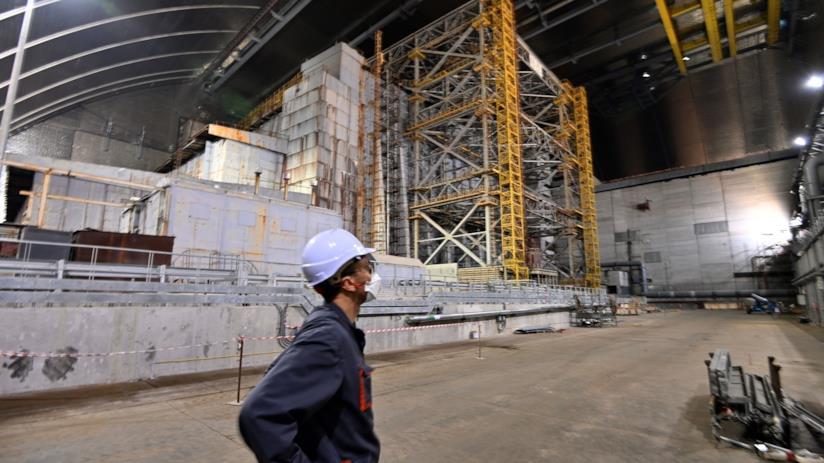 Il sito di Chernobyl