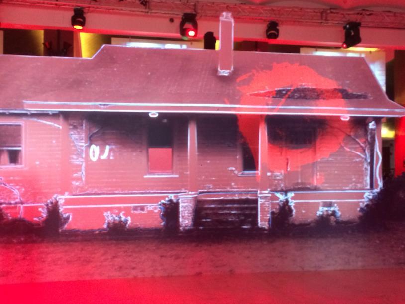 La casa di Kyle ricostruita nella location della premiere di Outcast