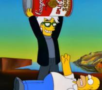 Andy Warhol e Homer Simpson