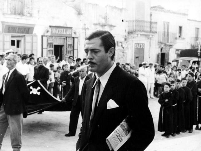 Marcello Mastroianni in una scena del film