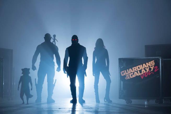 La prima foto ufficiale di Guardiani della Galassia Vol. 2