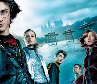Il poster di Harry Potter e il Calice di Fuoco