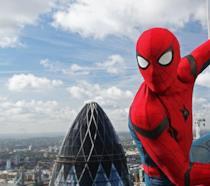 Una scena di Spider-Man: Homecxoning