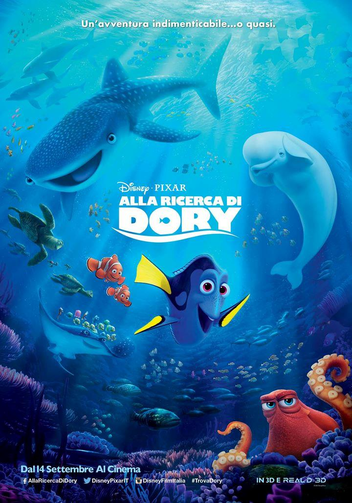 Dory sulla locandina del sequel di Alla Ricerca di Nemo