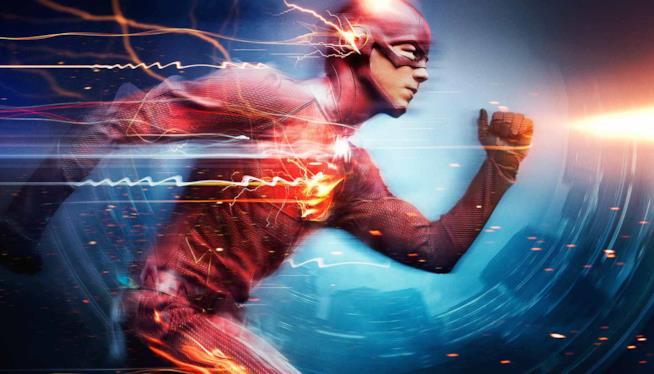 Grant Gustin è Barry Allen nel poster promo di The Flash