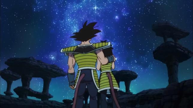 I genitori di Goku piangono l'addio al figlioletto