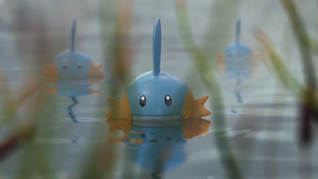 Mudkip selvatici dall'ultimo trailer di Pokémon GO