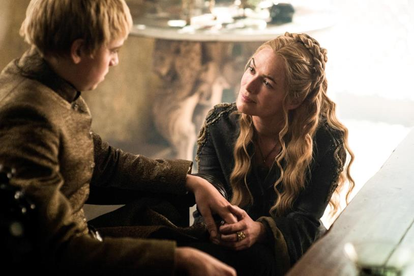 Dean-Charles Chapman e Lena Headey in Game of Thrones 5x07