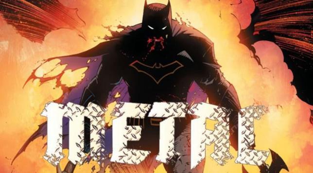 Batman disegnato da Greg Capullo per l'evento Metal