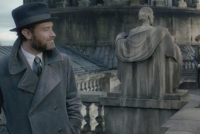 Jude Law e Eddie Redmayne in Animali Fantastici 2