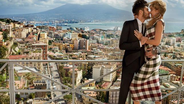 Zayn Malik e Gigi Hadid in Italia