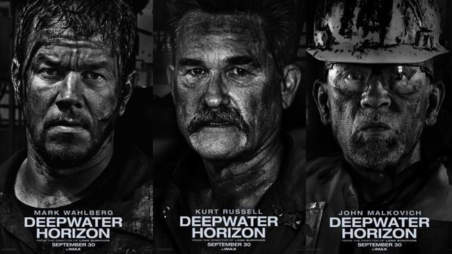 Poster del cast di attori Deepwater Horizon