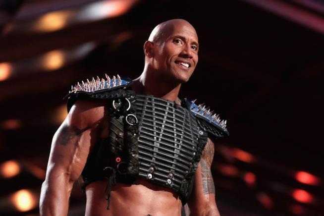 The Rock durante gli MTV Movie Awards
