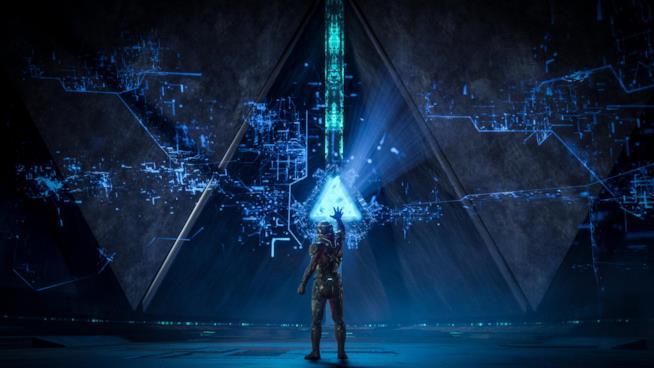 Il protagonista del nuovo Mass Effect esplora la galassia di Andromeda
