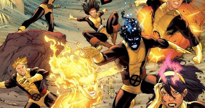 New Mutants, un'immagine del fumetto
