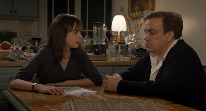 Una scena del film Un Marito a Metà