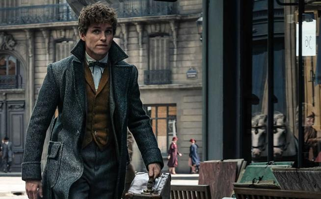 Eddie Redmayne in Animali Fantastici 2