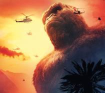 Kong difende Skull Island dagli umani