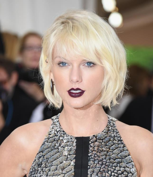 La cantante Taylor Swift ad un evento