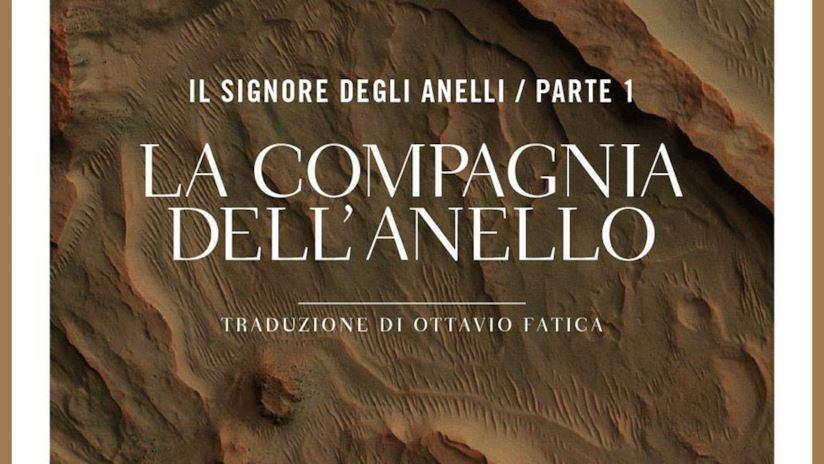 La copertina della nuova traduzione di Ottavio Fatica de La compagnia dell'anello