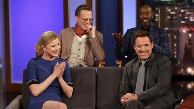 Team Iron Man riunito per il Jimmy Kimmel Live