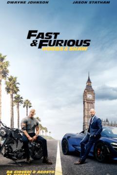 Hobbs & Shaw nel teaser poster italiano del film