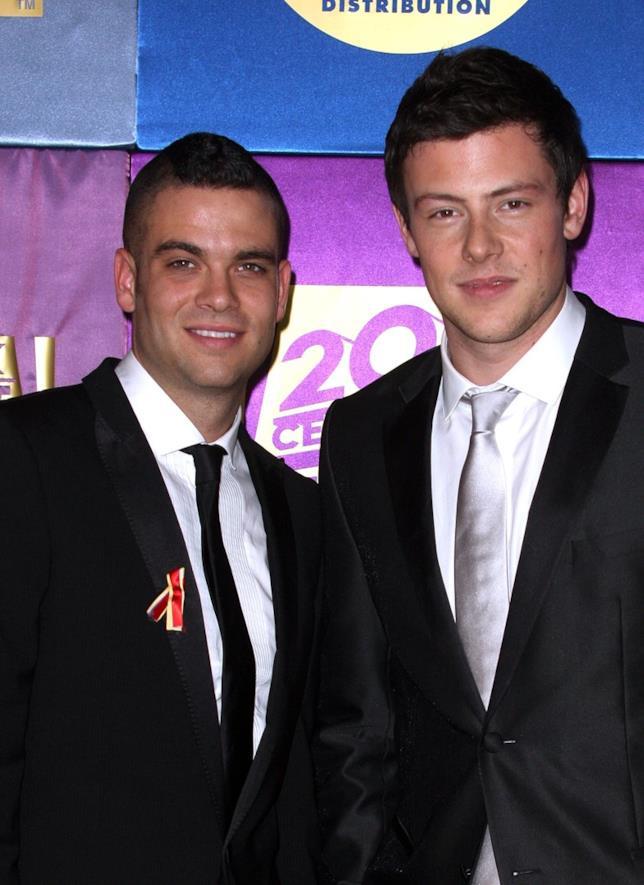 Mark Salling e Cory Monteith ai tempi di Glee