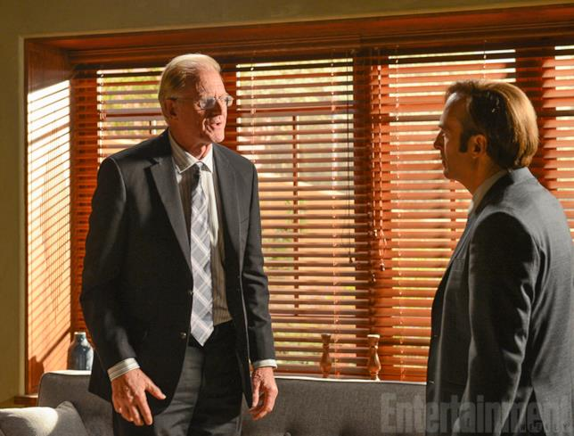 Jimmy McGill sul set di Better Call Saul