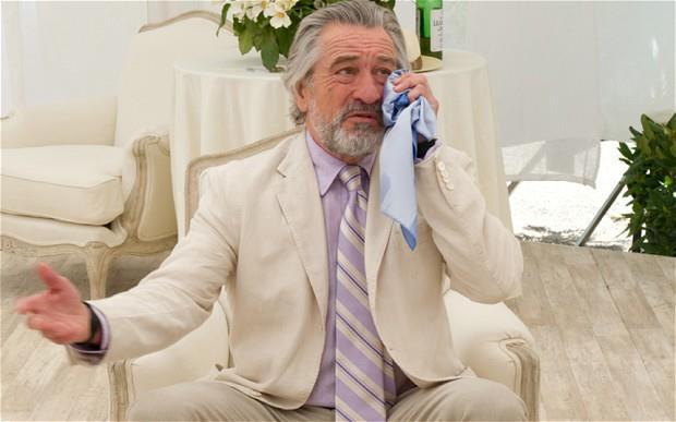Robert De Niro in una scena di Big Wedding