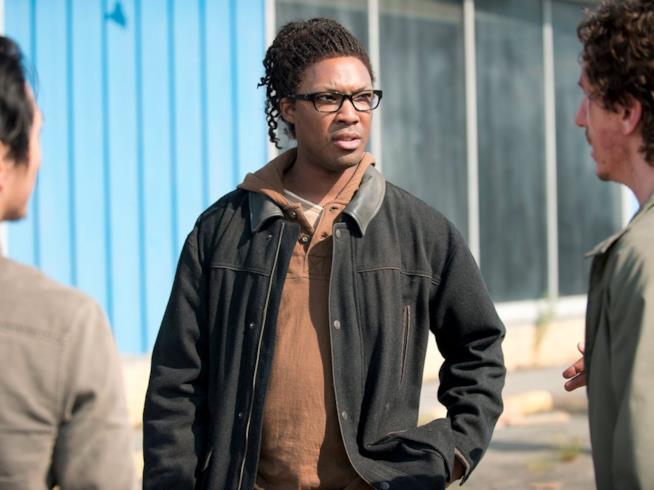 Corey Hawkins in The Walking Dead ha interpretato Heath