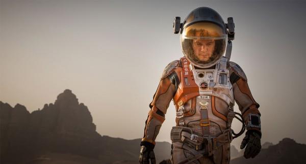 Scena del film The Martian