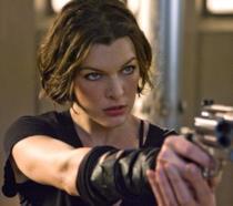 Milla Jovovich, protagonista della saga Resident Evil
