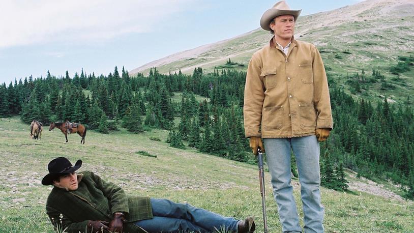 Una scena de I segreti di Brokeback Mountain