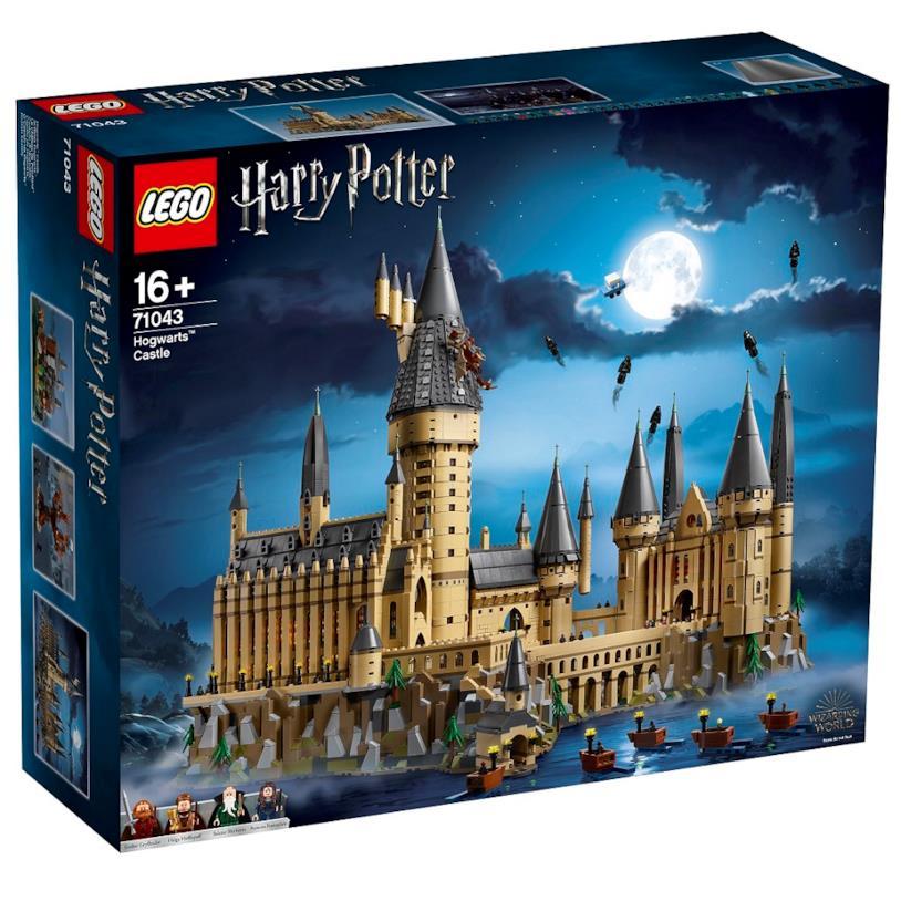 Il castello di Hogwarts - set LEGO