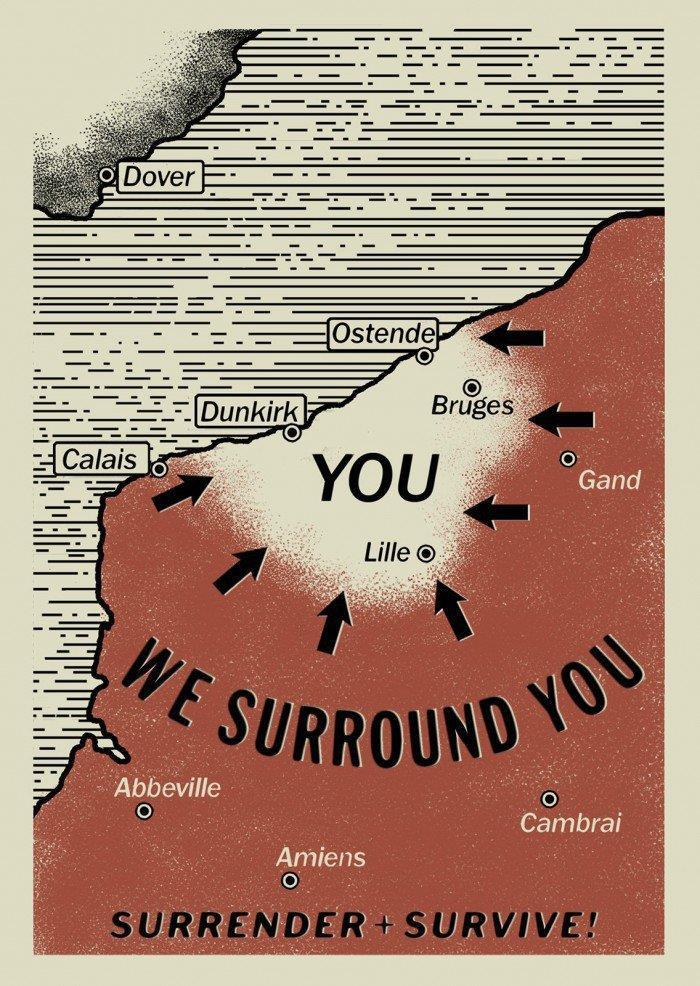 Site circondati: arrendetevi e potrete sopravvivere