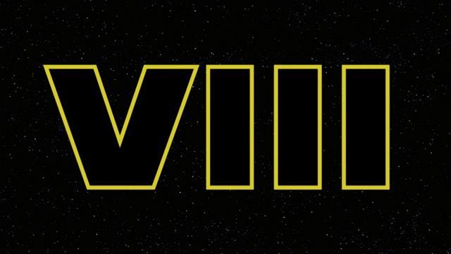Logo non ufficiale di Star Wars 8