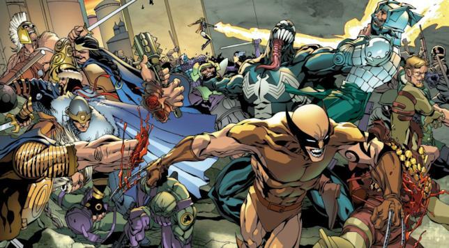 Una seconda tavola dedicata ai Dark Avengers