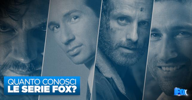 FOX Master Series: quanto conosci le Serie TV di FOX