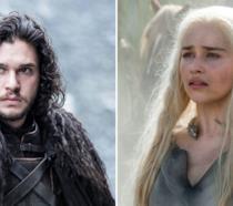 Jon Snow e Daenerys Targaryen