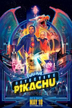 I Pokémon di Detective Pikachu disegnati sulla locandina del film