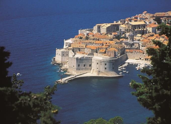 La città vecchia di Dubrovnik è Approdo del Re