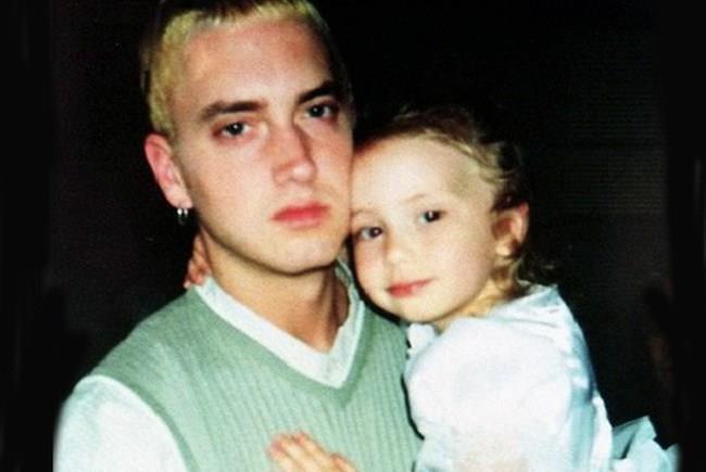 Eminem con la piccola Hailie