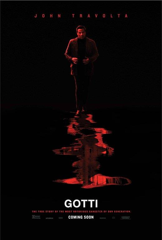 Locandina di Gotti, ultimo film interpretato da John Travolta