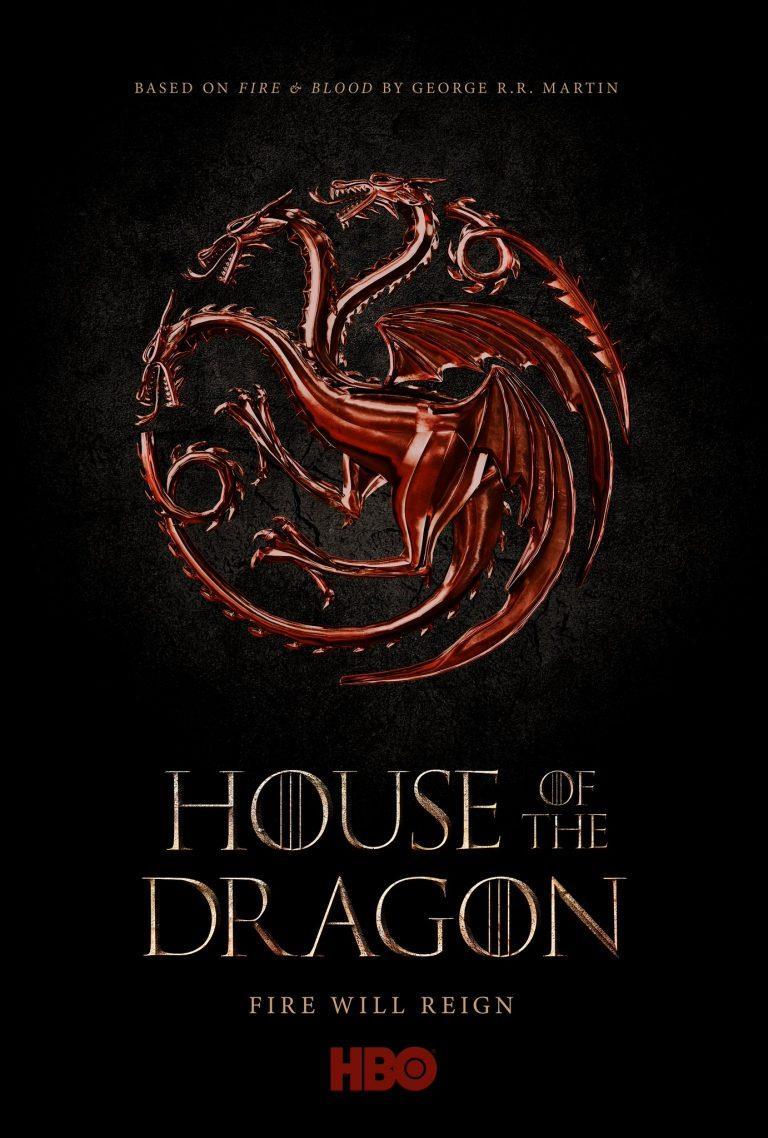 Il poster di House of the Dragon