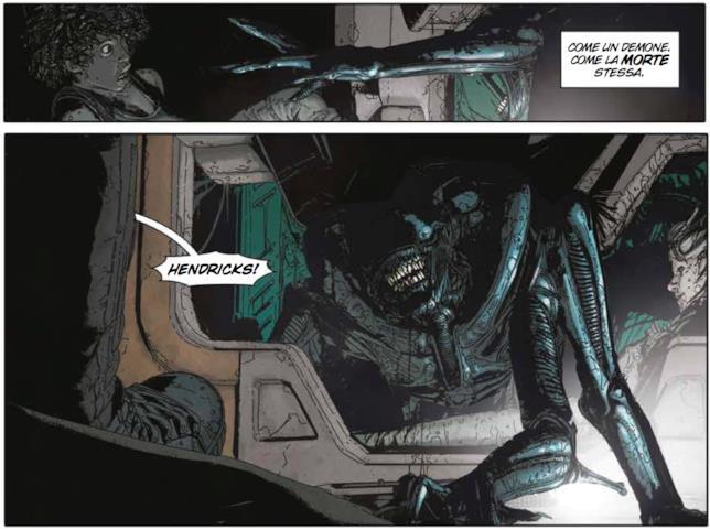 Aliens: Defiance, la Regina