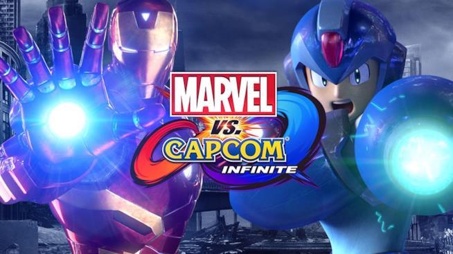 Iron Man e Mega Man in Marvel vs. Capcom Infinite