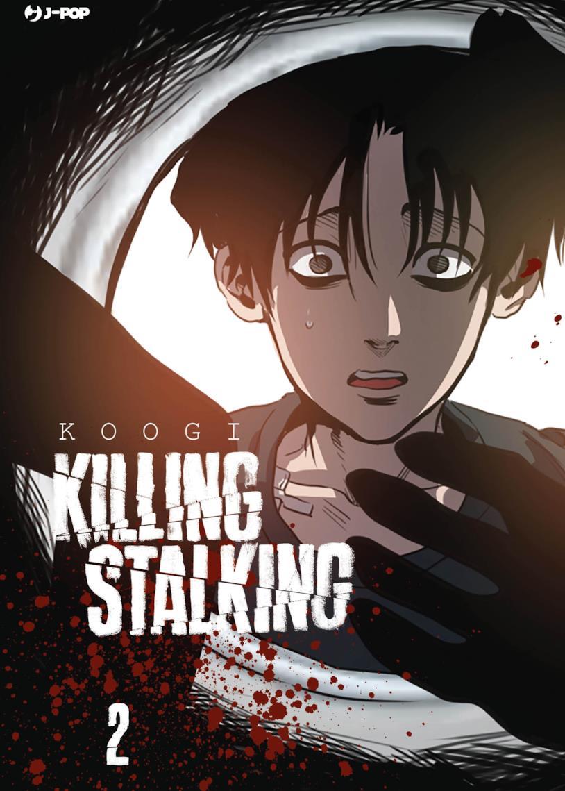La copertina del secondo volume dell'edizione italiana di Killing Stalking
