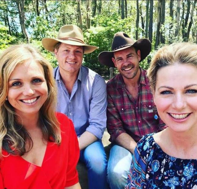 Alcuni componenti del cast di Le Sorelle McLeod si incontrano per una reunion