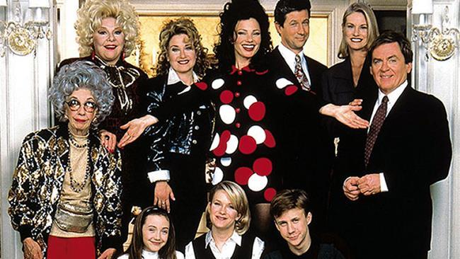 Il cast della serie La Tata