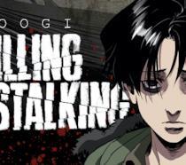 Un dettaglio della copertina di Killing Stalking